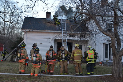 Structure Fire - Route 6, Columbia, CT - 12/30/14