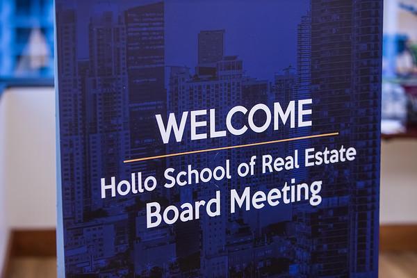 FIU Hollo School of Real Estate Board Meeting