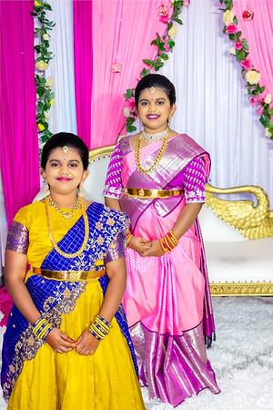 Akki's Half Saree Ceremony
