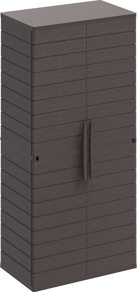 Vertical Cabinets Tall #1 Brown