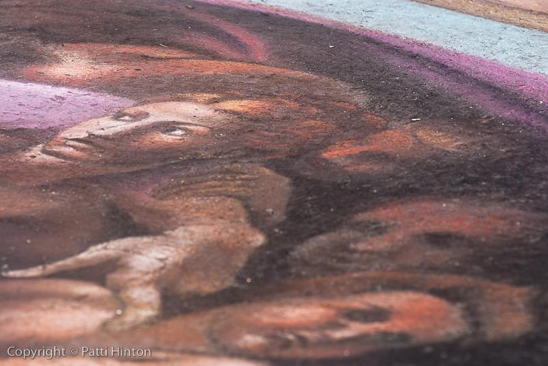 Creation of Man panel detail - Melanie Stimmell, artist (Stranger #35)