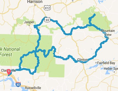 2017 Labor Day Weekend Arkansas Ride