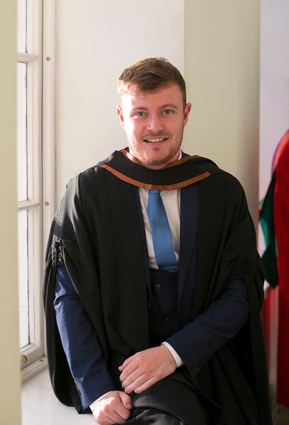 01/11/2018. Waterford Institute of Technology (WIT) Conferring Ceremonies 2018. Pictured is Joe Coulson. Picture: Patrick Browne