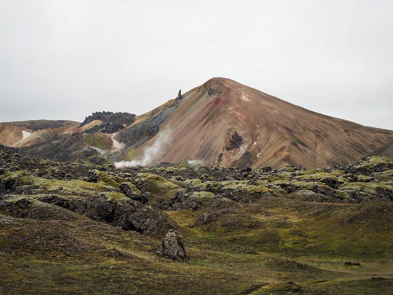 Rainbow mountain in Landmannalaugar
