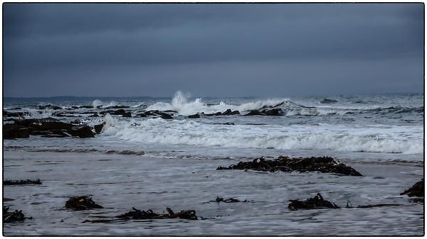 Kingsbarns Beach - Stills from a Video camera December 2020
