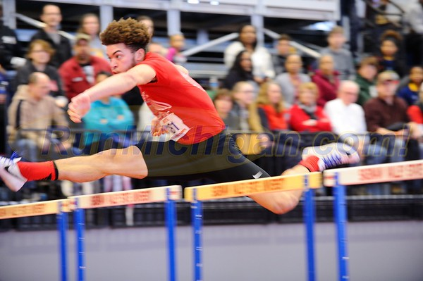 Boys' and Girls' 60 Meter Hurdle SEMIS - 2018 MITS State Meet