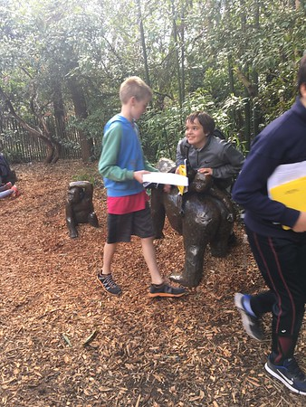 6th Grade Zoo Field Trip April 2017