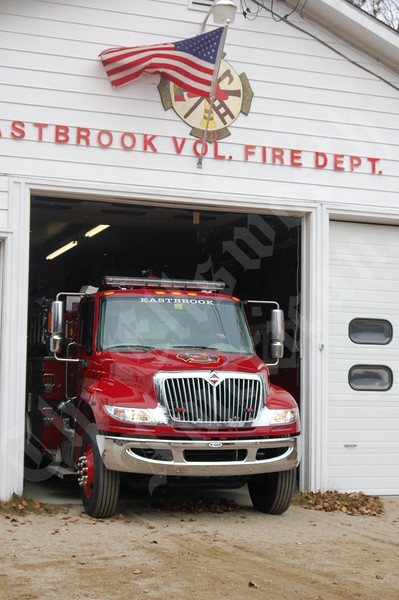 Eastbrook Takes Delivery of New Fire Truck