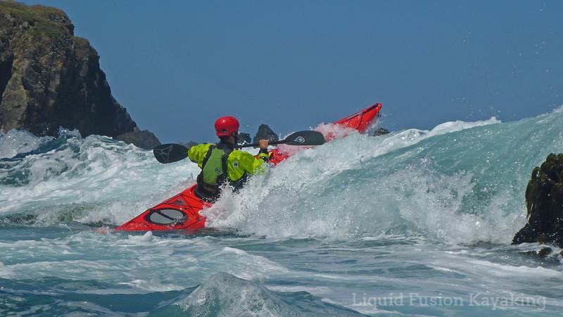 The Art of Sea Kayaking on the Mendocino Coast