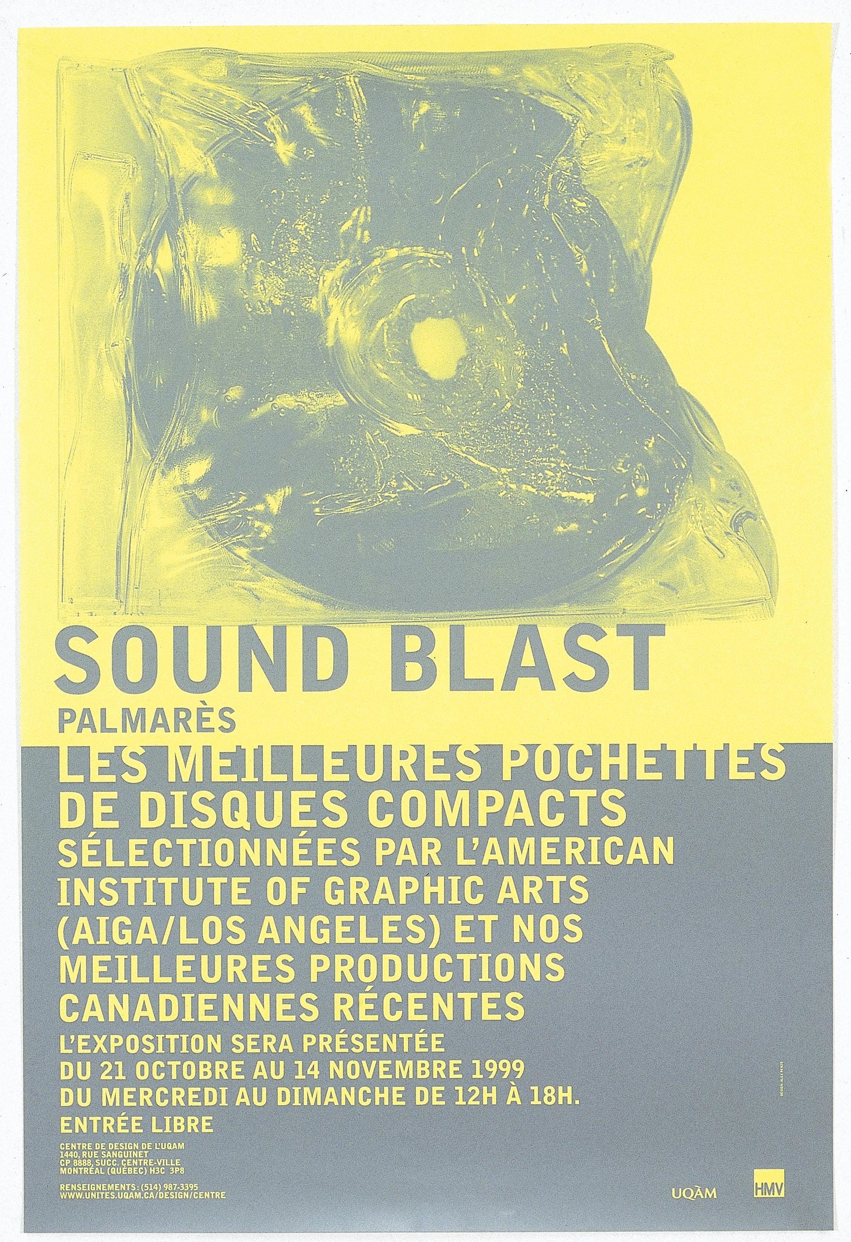 1999 - Exposition - Sound Blast palmarès ©Alexandre Renzo