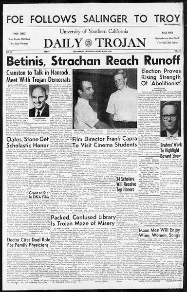 Daily Trojan, Vol. 55, No. 114, May 08, 1964