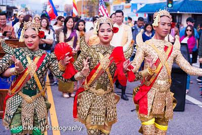 Cambodian New Year Parade:  April 10, 2016