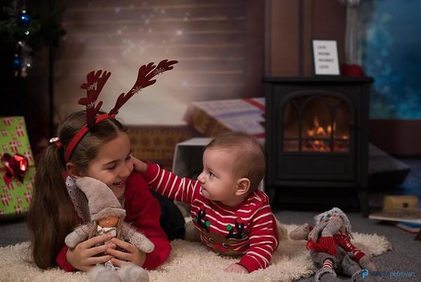 Silviu, Agneta & kids