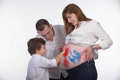 Carlota e família