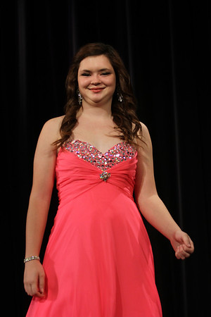 Pageant -- Evening Gown and Question