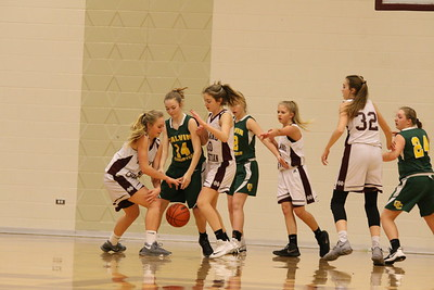HCHS freshman girls vs Calvin Christian