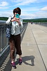 2015-06-06 Hudson River Bridge River Walk V(30) Martha with IPhone