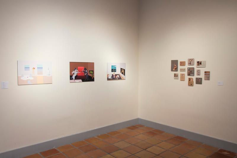 2017 Juried Alumni Exhibition, Installation View.