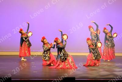 25 Xinjiang Tambourine Dance