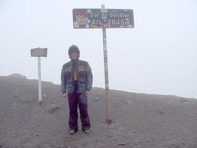 Cols du Galibier et du Montcenis Sept 2001