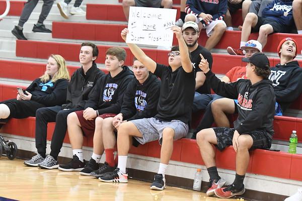 Student Crowd - Northwest Basketball game