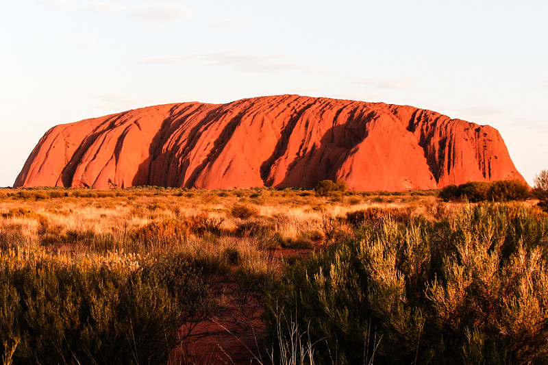 Uluru (previously known as Ayers Rock), Australia, 2006