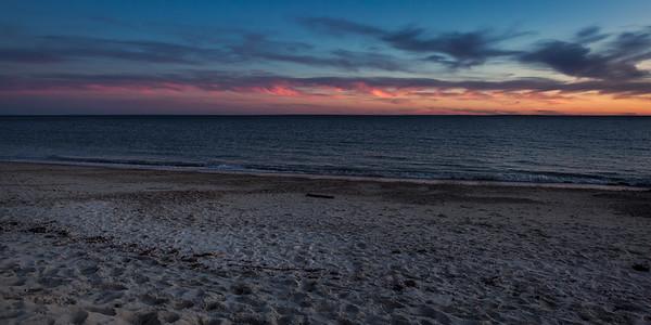 Harkness Park sunset