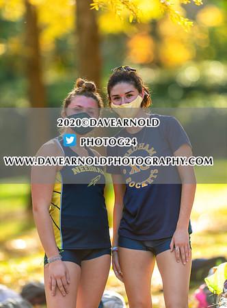 10/21/2020 - Girls Varsity Cross Country - Natick vs Needham