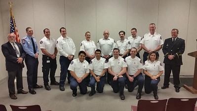 2017: Paramedic Graduation