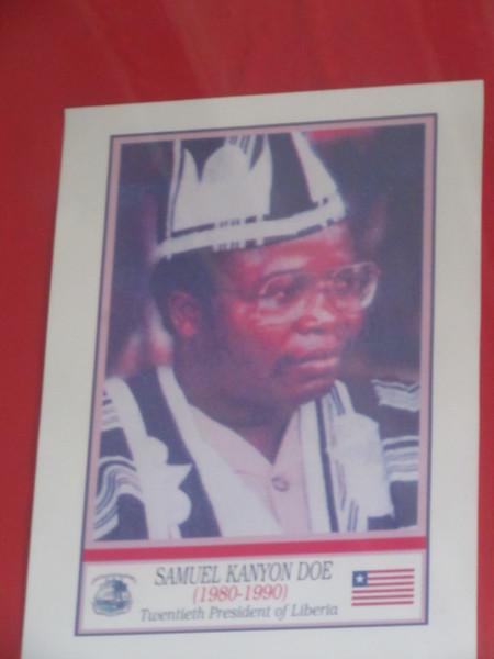 027_Monrovia. The Centennial Building. Killed President Tolbert. First Indigeneous President.JPG