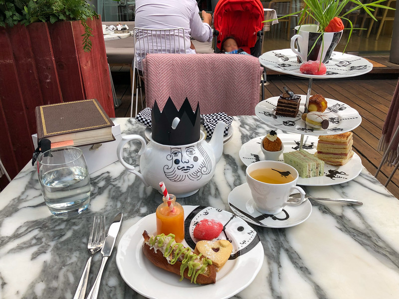 Mad Hatters Tea Party in London