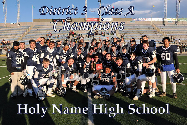 Holy Name VS Millersburg District 3 Championship 2010 - 2011