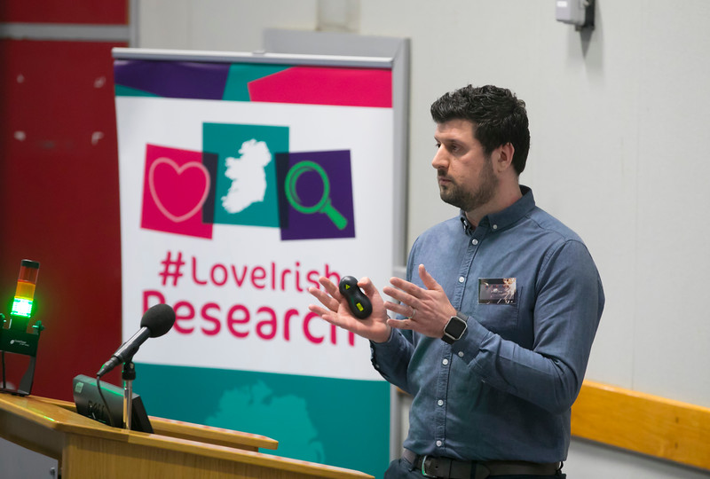 22/02/2018. Research Sparks in Waterford Institute of Technology. Pictured is Dr Alan Davy. Picture: Patrick Browne