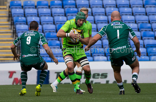 London Irish vs Northampton Saints, Aviva Premiership, Madjeski Stadium, 24 September 2017