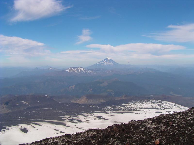 Volcan Quetrupillán and Lanin