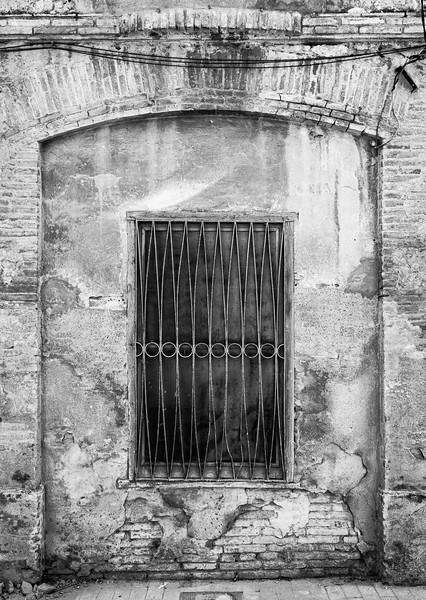 Barred window in Figueres
