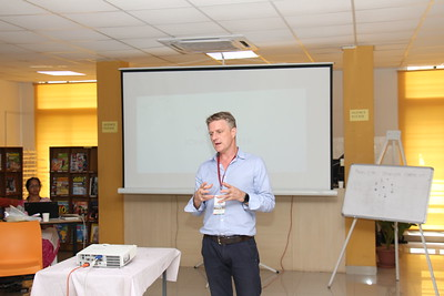 2019-05-29 Orientation By John Gloster_Former physiotherapist  to Indian Cricketers