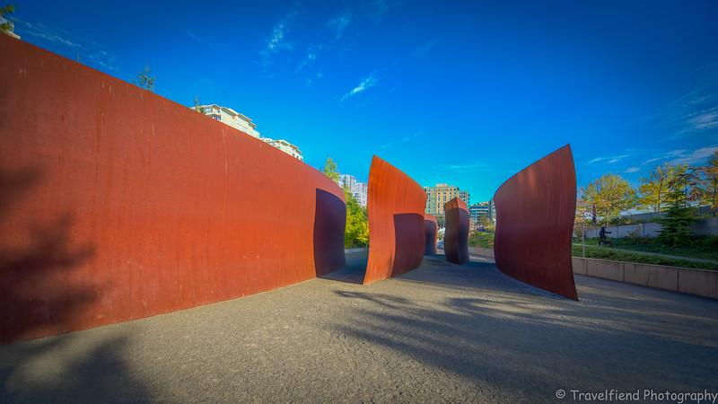 Seattle Art Museum's Olympic Sculpture Park, Seattle Wa