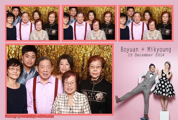 Boyuan + Milkyoung Photobooth Album