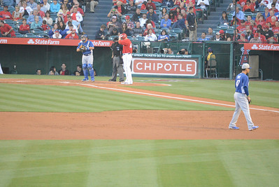 Dodgers at Angels 30 March 2013 Bottom of the Second