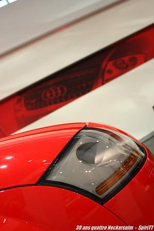Audi forum Neckarsulm 30 ans quattro