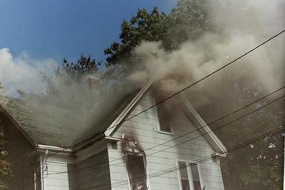House Fire Stoughton Ma. Canton Street 1993