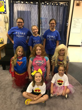 Homecoming Week 2018: Elementary Squad Day