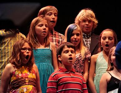 Sayge 3rd Grade chorus