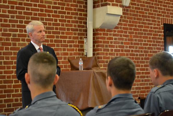General Patrick Finnegan Visits Fork Union