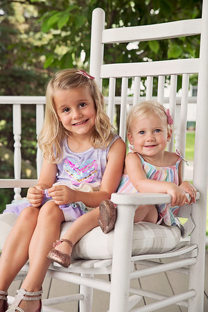 Mia and Emme Lou