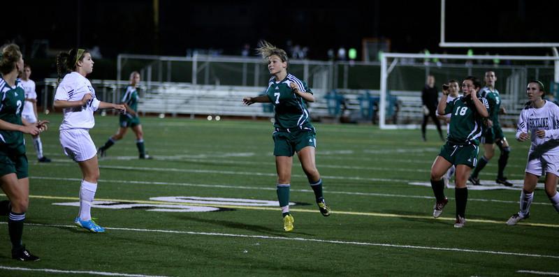 Maddie Jones  Woodinville High Girls Varsity Soccer verse Skyline High October 20, 2011, ©Neir