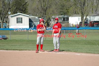 St. Clair JV Baseball Ag. Port Huron Reds