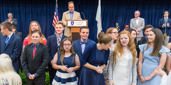 AATL 7th and 8th Grade End-of-Year Honors, May 30, 2018