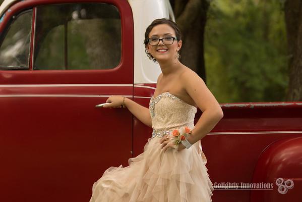 Makayla Buzbee Prom 2016